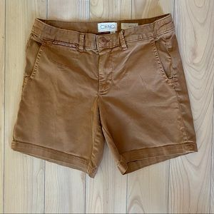 Anthropologie Relaxed Fit Chino Shorts, 26